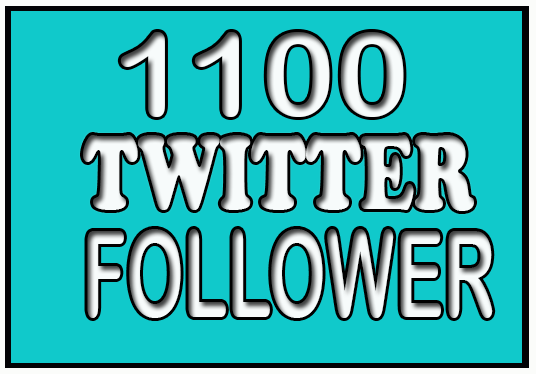 I will Provide 600 real and active twitter followers