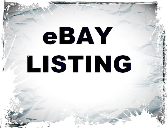 I will list 50 items to your ebay store