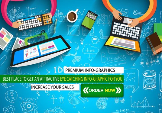I will Create Attractive Info-Graphics For You