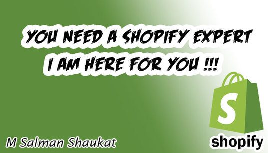 I will fix Shopify Bugs And Give you  Best Service