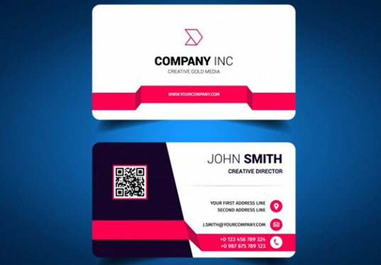 I will do 2 Sided business card design for you