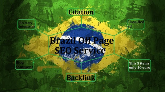 I will do off page seo for your Brazil site