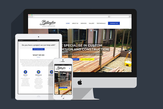 design a website for your business