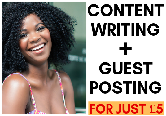 I will do 600 words content writing and guest posting