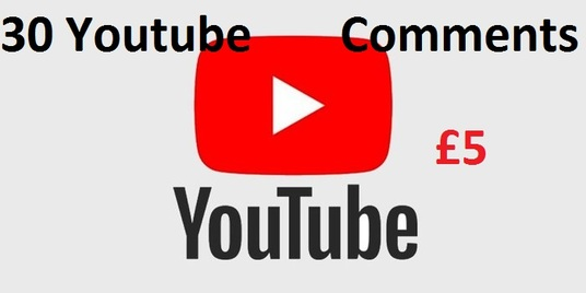 I will give you 30 custom  YouTube comments and 10 likes  for your video ranking