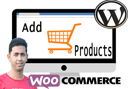 I will add unlimited Products to your Woocommerce Website in one day