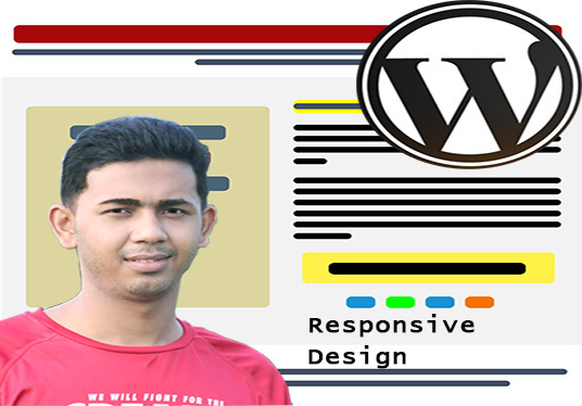 I will convert  psd to responsive design and psd to html in one day