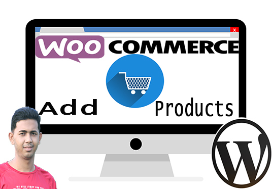I will add 100 Products to your Woocommerce store in short time