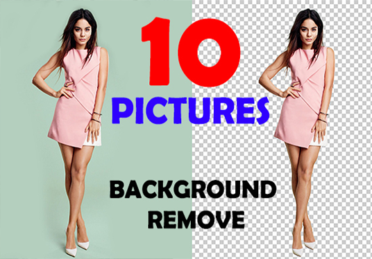 I will Do 10  Images, Background Removal