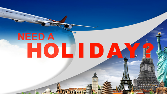I will add your travel agency services to a predesigned holiday destination video commercial