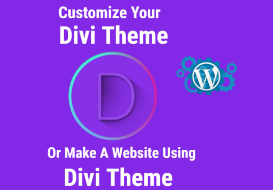I will Customize Wordpress Divi Theme