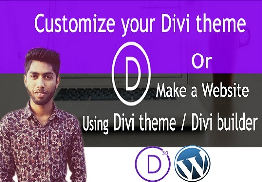 I will Customize Your Divi Theme as your requirement by the Divi builder