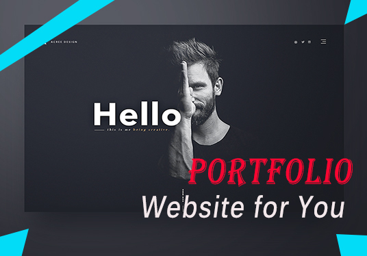 I will Create Professional Blog,Portfolio WordPress Website