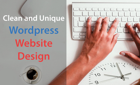 I will create a modern WordPress website design or blog