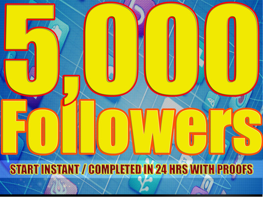 I will provide 5,000 Facebook Real and Active Followers
