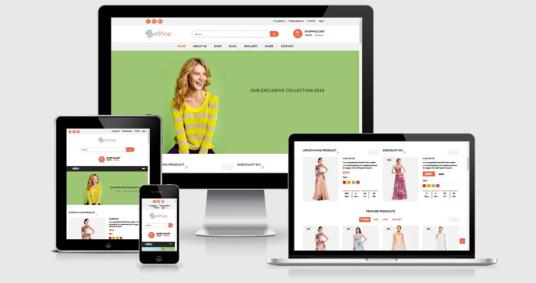 I will develop an ecommerce website with WordPress and Woocommerce