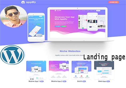 I will design Landing page and Squeeze page for you business