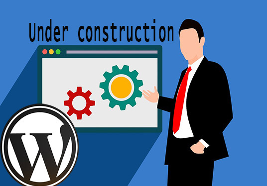 I will create coming soon page and under construction page in short time