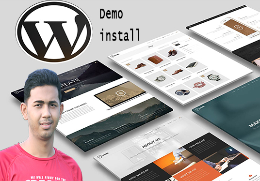 I will do Install and Setup WordPress Themes in short time