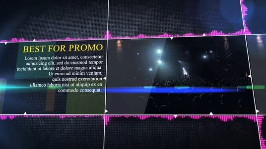 create music dance club event party promotional ad videos