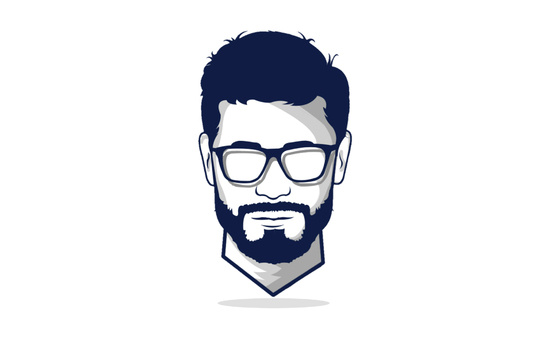 I will Design Minimalist Flat Line Vector Avatar for you