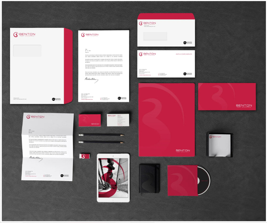 I will Create Your Professional Branded Identity & Design A Full Business Stationery Pack