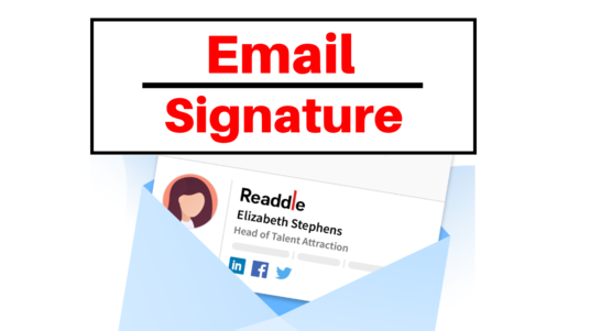 I will Design Email Signature, Html Email Signature, Clickable Signature