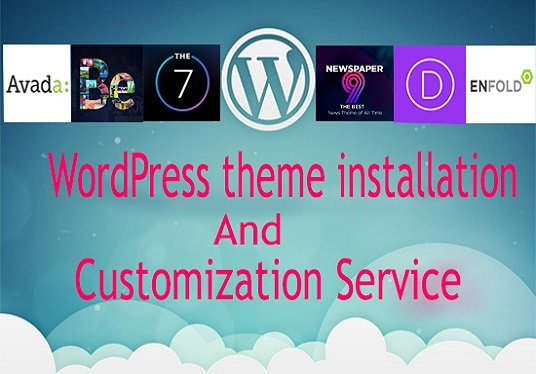 Customize any WordPress  theme