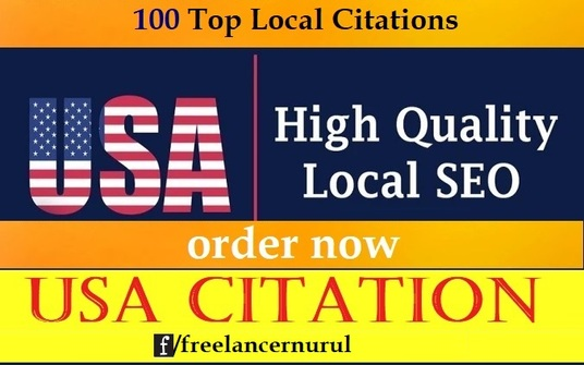 I will Do 100 Top Local Citations