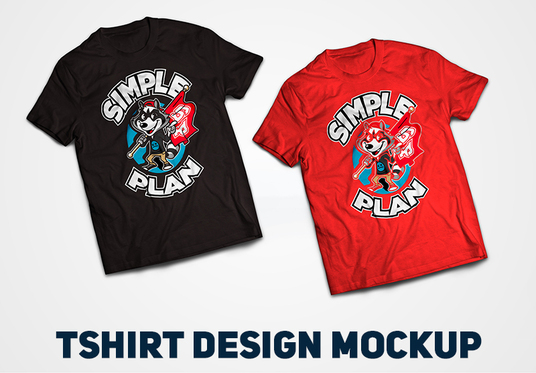 I will create custom TShirt Design and Mock-up