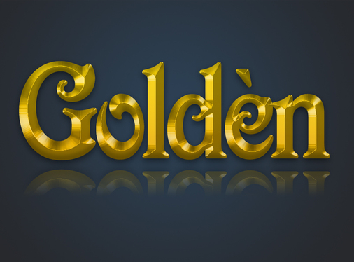 make your Text Logo into Realistic Chocolate or Golden 3D Effect with Shadow