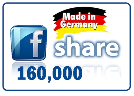 I will share your Link to 160,000 Germany Social Media Members
