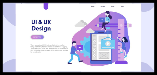 I will Design Professional Ui  Ux Web Templates Psd
