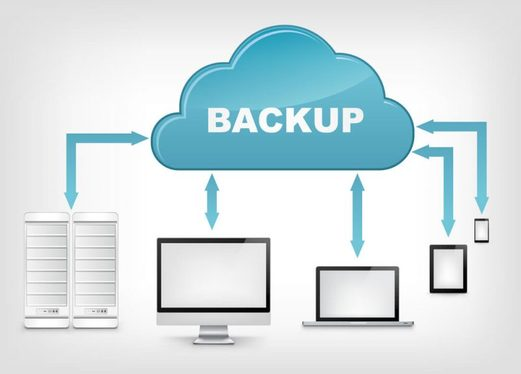 set up your computer to automatically backup to the cloud