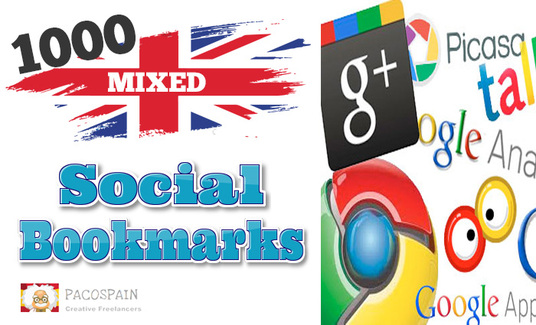 create 700 High Quality .CO.UK Social Bookmark Links 0r 1000 mixed