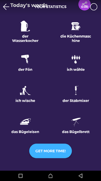 Translate 1000 words from German to English language
