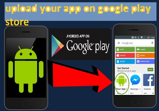 I will publish your android app in google play store account
