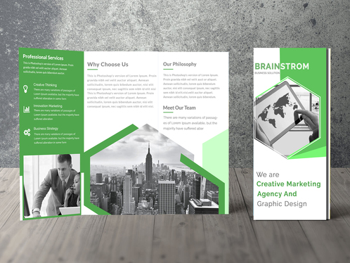 Create The Perfect Flyer Or Brochure For Your Product Or Event