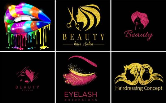 I will design Hair Extension and beauty saloon logo for you