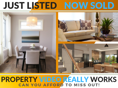 add your latest properties for sale to a predesigned real estate agents property video commercial