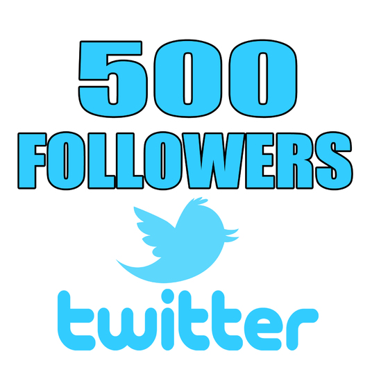 I will add 500 Twitter Followers HQ