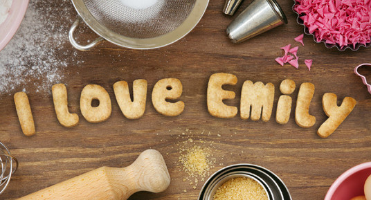 Bake Cookies with whatever Text you want