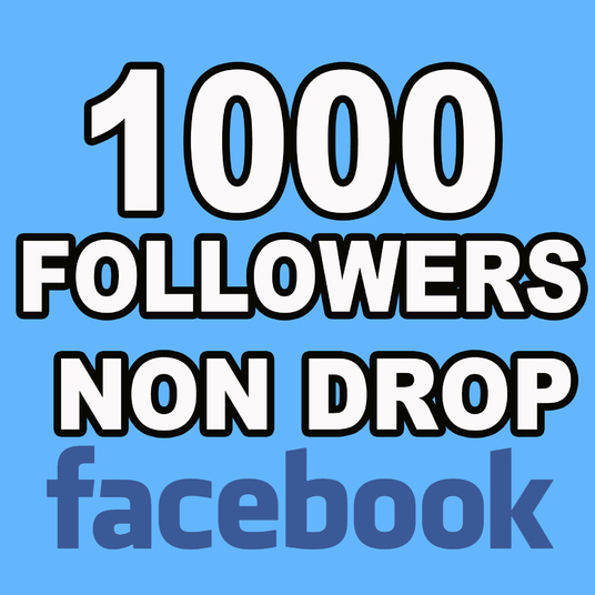 I will Add 1000 Facebook Followers Non Drop
