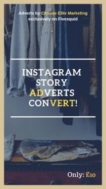 design you a high-conversion Instagram story advert