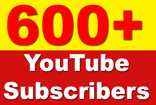 I will Add 600 YouTube Subscribers Non Drop, Safe & Fast