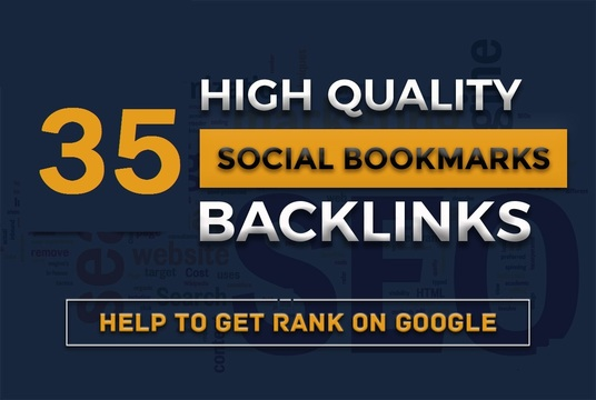 I will do TOP 35 Social Bookmarking Manually With Full Report