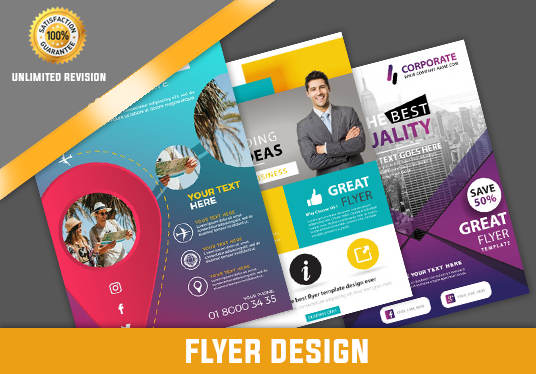 I will Design Professional and Awesome Flyer, Poster