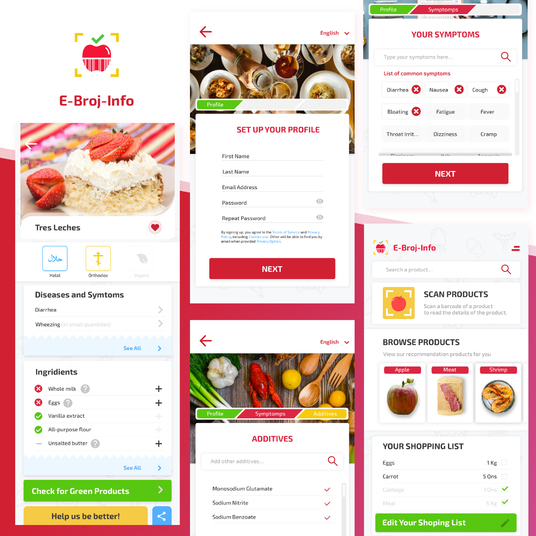 I will design professional mobile app design for Android and IOS