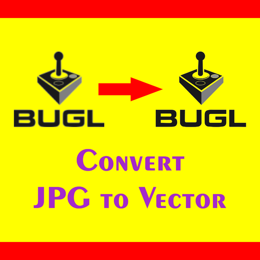 I will Design or Redesign Your Logo Or Any Graphics In Jpeg To Vector
