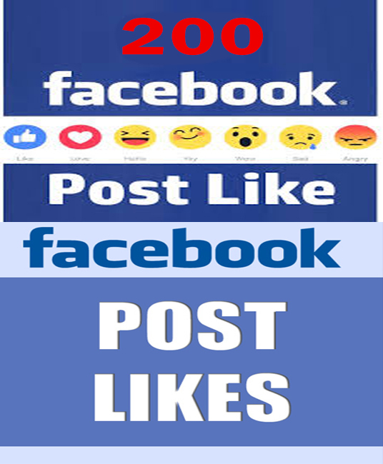 I will Provide Real 150+ Facebook Post  Likes Without password